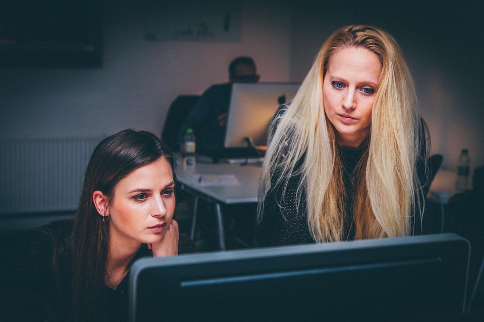 Women Teamwork Team Business People Office