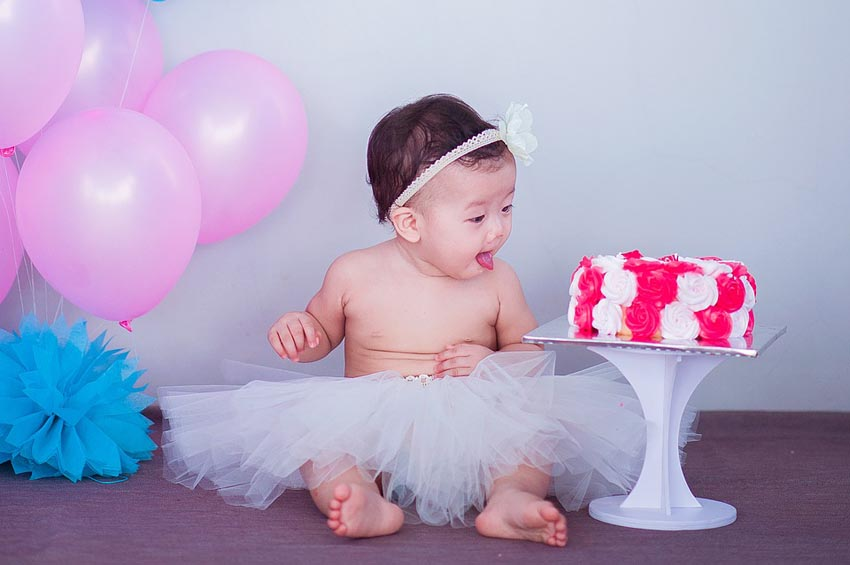 Baby Cake Sweet Child Cute Infant Childhood
