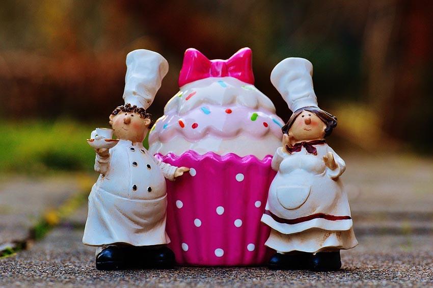 Baker Cooking Coffee Cupcake Cake Sweet Pastry 1