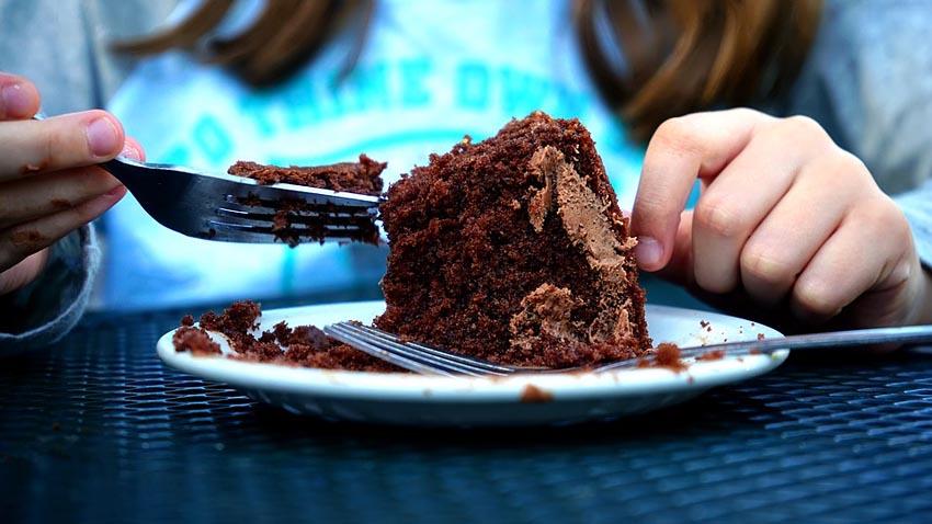 Cake Eat Food Sweet Eating Dessert Happy