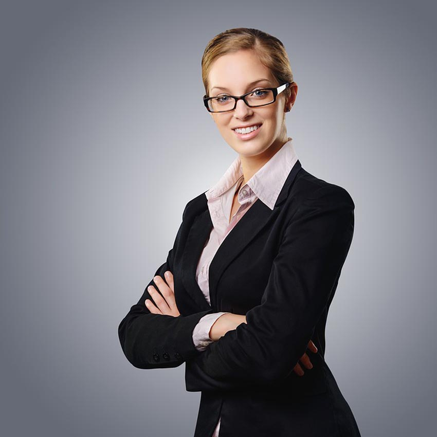 Business Woman Professional Suit Elegant Female