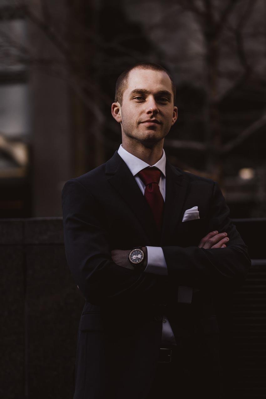 Management consultant business professional confident