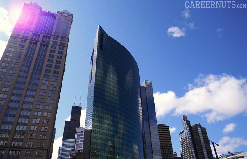 corporate careers highest paying professions chicago-buildings