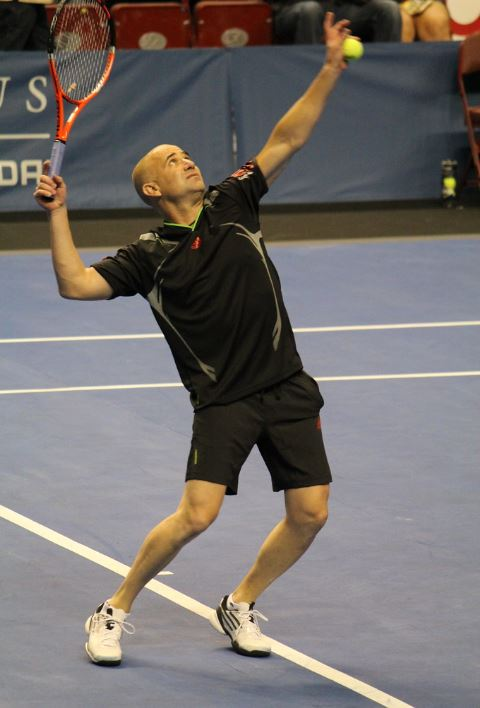 andre agassi hates tennis passion