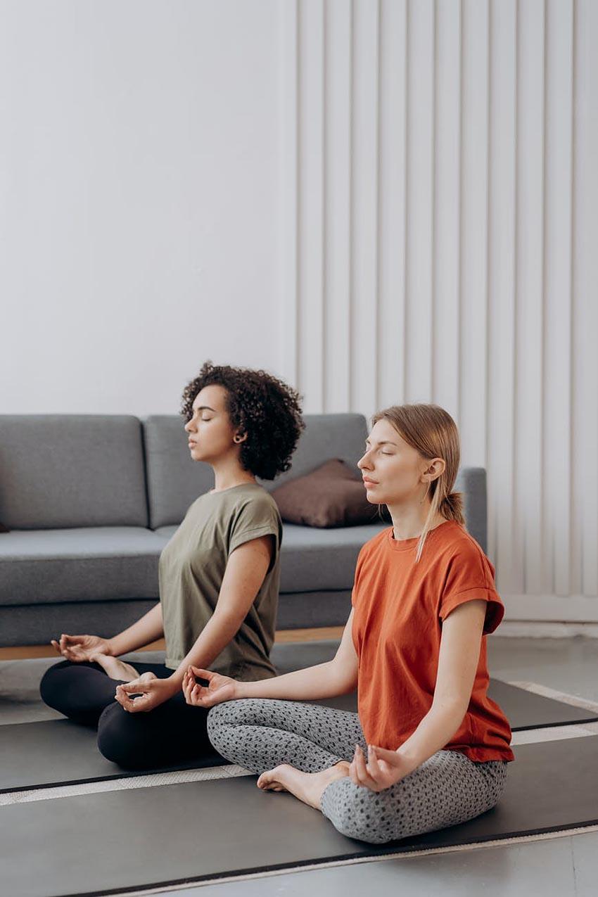 personal development activities yoga